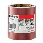 Bosch 2609256B78 Rouleau abrasif pour bois/peinture 93mm x 5m P240 de la marque Bosch image 1 produit