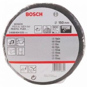 Bosch 3 608 604 025 Disque éponge abrasif Carbure de silice Diamètre 150 mm / Grain 800 de la marque Bosch image 0 produit