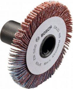 Bosch Abrasif bois pour ponceuse PRR 250 ES 5 mm G80 Rouge de la marque Bosch image 0 produit