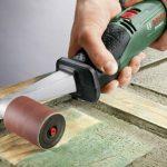 Bosch Abrasif bois pour ponceuse PRR 250 ES 60 mm G80 3 Pièces Rouge de la marque Bosch image 1 produit