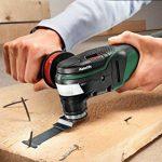 Bosch Outil Multifonction PMF 350 CES (3 Lames, Plateau de Ponçage, 6 Feuilles Abrasives, Coffret, 350 W, Pour Accessoires Starlock Et Starlockplus) de la marque Bosch image 3 produit