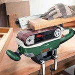 """Bosch Ponceuse à bande """"Expert"""" PBS 75 AE Set avec 2 serre-joints, 1 butée parallèle et angulaire, 1 support et 1 bande abrasive 06032A1101 de la marque Bosch image 2 produit"""
