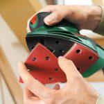Bosch Ponceuse Multi PSM 100 A compacte et puissante avec coffret et 3 feuilles abrasives 06033B7000 de la marque Bosch image 3 produit
