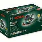 """Bosch Ponceuse multifonction """"Universal"""" sans fil PSM 18 LI outil seul sans batterie avec 3 feuilles abrasives, technologie Syneon 06033A1301 de la marque Bosch image 1 produit"""