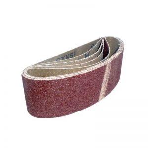 Chiffon Bandes abrasives 60x 400mm Lot de 20. 5de chaque 40, 60, 80et 120grains de la marque Footprint-Fixings-Abrasives image 0 produit