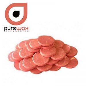 Cire en galets pour EPILATION traditionnelle 1kg, ROSE, Sans bande, réutilisable de la marque Purewax-by-Purenail image 0 produit