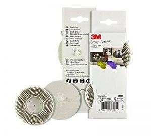Disque abrasif résine 3M Scotch-Brite Bristle RD-ZB, 75 mm, 2 disques/pack de la marque Scotch-Brite image 0 produit