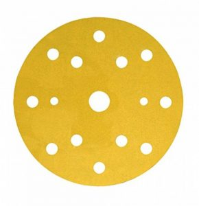 Disque abrasif support papier 3M Hookit 255P, 150 mm, Grain 120, 15 trous, 100 disques / boite de la marque 3M image 0 produit