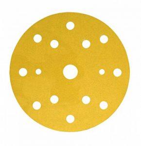 Disque abrasif support papier 3M Hookit 255P, 150 mm, Grain 400, 15 trous, 100 disques / boite de la marque 3M image 0 produit