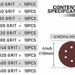 disque abrasif velcro 150 mm TOP 12 image 3 produit
