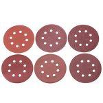 Disque de Ponçage 80 pcs à Fixation Excentrique 8 Trous Grain Abrasif Velcro 40/60/80/100/120/150/180/240/320/400 Grain Taille 125mm pour Poncer Polir Dérouiller (8 disques par taille de grain) de la marque Cuitan image 3 produit