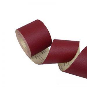 ECKRA 2590 Papier abrasif à rouleaux en papier électronique Marron foncé 93 mm x 25 m P80 de la marque ECKRA image 0 produit