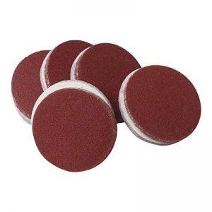 ECKRA 3100 Lot de 50 disques abrasifs pour meuleuse Ø 75 mm sans trous d'aspiration P120 Marron rouge de la marque ECKRA image 0 produit