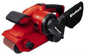 Einhell TC-BS 8038 Ponceuse à bande avec sac à poussière, 800 W, 230 V, rouge, taille unique de la marque Einhell image 0 produit
