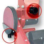 Einhell Touret de ponçage TC-US 400 (375 W, Diamètre du plateau : 150 mm, Table pivotante et inclinable, Livré avec bande et disque de ponçage) de la marque Einhell image 2 produit