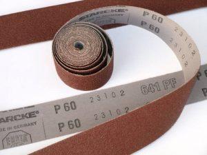 Emery Rouleau abrasif d'émeri Grain 240 25mm x 5000mm haute qualité de la marque STARCKE-ERSTA-Abrasives image 0 produit