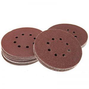 ENET 50Pcs 150mm Ponceuse Disques abrasifs 406080100120Grain abrasif de la marque ENET image 0 produit