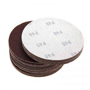 ENET 50x 125mm/150mm Rond Mixte abrasives Papier abrasif Cercle Sable Disques sans Trou de la marque ENET image 0 produit