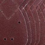 ETSAMOR Papier de Verre 50 Pcs 5 Types Papier a Poncer Pas Facile à Porter Feuilles de Ponçage pour Ponceuse Black and Decker 140 * 90mm 40/80/120/180/240 de la marque ETSAMOR image 4 produit