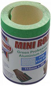 Faithfull 115mm Oxyde d'aluminium Vert Plage de rouleaux de papier de la marque Faithfull image 0 produit