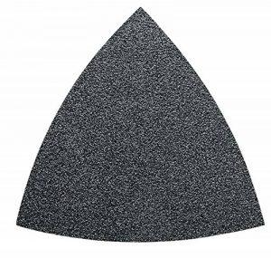 Fein 63717 083015 Feuille abrasive triangulaire Non perforée Grain P 80 (Import Allemagne) de la marque Fein image 0 produit