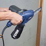 FERM Lime électrique 400W Incl. bras large 13mm, bras étroit 8mm, bras incliné 13mm, 12 bandes abrasives de la marque Ferm image 1 produit