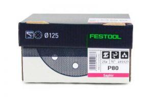 Festool Disque abrasif STF D125/90P50Sa/25 de la marque Festool image 0 produit