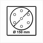 Festool se-mj71rubin2Disques abrasifs STF Ø 150cm/48, P120, 50pièces. * 575190T-Small de la marque Festool image 2 produit