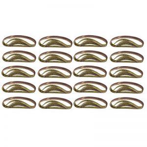 Fichier d'alimentation courroie Bandes abrasives 330mm x 10mm grain 120 100pk de la marque AB Tools-Silverline image 0 produit