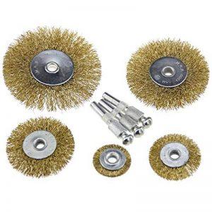 Fil Brosses Brosses Meuleuse d'angle acier laiton brosse ponçage Meule Meule de Embout pour perceuse de la marque TK-Gruppe-Timo-Klingler image 0 produit