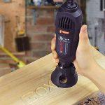 GOXAWEE Mini Outil Rotatif Electrique - 130W Mini Meuleuse/Perceuse Set avec Arbre Flexible & Mandrin Universel & 140 Accessoires pour Projets de Bricolage de la marque GOXAWEE image 4 produit