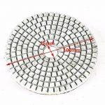 JOYOOO diamant polissage pad, M10Tampon auto-adhésif , 14Pieces 4 pouces humide sec diamant polissage pad set, pour granit, marbre,terrazzo et autre surface plane ou convexe, polissage concave. de la marque JOYOOO image 3 produit