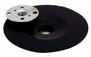 Leman 127.06 Plateau en Caoutchouc ø 125 mm avec écrou M14 pour disque fibre/semi-rigide de la marque Leman image 0 produit