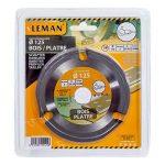 Leman SPEED.WOOD125 Lame carbure multifonction pour meuleuse d.125x22,23 z=3 Orange de la marque Leman image 1 produit