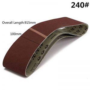 Lifreer 3pcs 915x100mm 240 abrasifs abrasifs ceintures outils abrasifs de la marque Lifreer image 0 produit