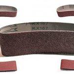 Lot de 10bandes abrasives 75x 533, grain 60–Tissu pour ponceuse à bande/Papier abrasif/bandes abrasives de la marque S&S-Shop image 2 produit