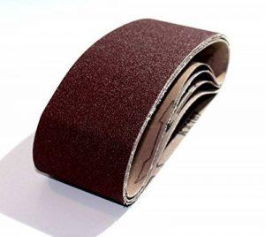Lot de 10 bandes abrasives en tissu 75 x 533 – grain 180 – pour ponceuse à bande | papier abrasif | bandes abrasives de la marque BoH-Warenhandel image 0 produit