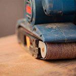 Lot de 10 bandes abrasives en tissu grain 120 pour ponceuse à bande 75 x 457 mm de la marque FD-Workstuff image 2 produit