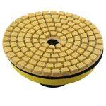 Lot de 10 disques abrasifs à poncer avec 1 plateau de ponçage - pour le marbre, le granit, le béton, la pierre - 8cm de diamètre - Grain: 50/100/150/300/500/800/1000/1500/2000/3000 de la marque HALJIA image 4 produit