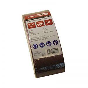 Lot de 10woltersberger de tissus et de bandes abrasives | Grain P 80| Taille 75x 457mm de la marque Woltersberger image 0 produit