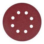 Lot de 120 disques abrasifs diamètre 125 mm grain 20 x 40/60/80/120/180/240 pour ponceuse excentrique de la marque SBS image 2 produit