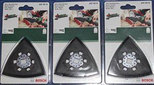 Lot de 3Plateau de ponçage BOSCH 2609256956ois AVI 93G 93mm Outils GOP, multifonction PMF, Fein, Makita de la marque Bosch image 0 produit