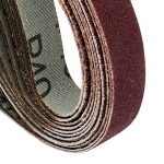 Lot de 48 bandes abrasives SBS - 13 x 457 mm - Assortiment de 8 pièces par granulation: 40/60/80/120/180/240 de la marque SBS image 3 produit