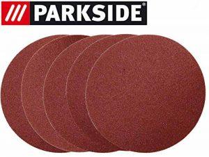 Lot de 5 feuilles abrasives pour ponceuse Parkside ESG PTSG 140 B2 - LIDL IAN 290842 5 x K150 + 5 x film de protection de la marque Parkside image 0 produit