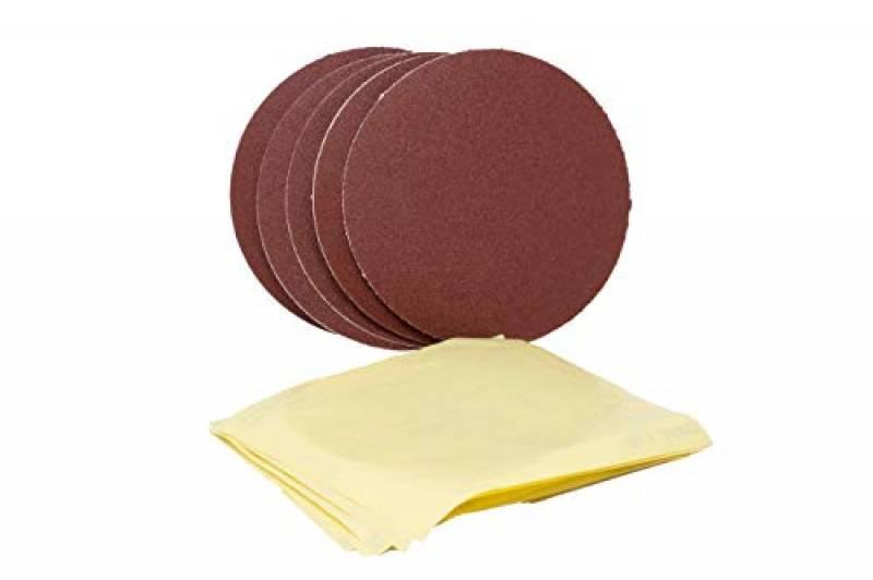 LIDL IAN 290842 5 x K80 5 x films de rangement Lot de 5 feuilles abrasives pour ponceuse Parkside ESG PTSG 140 B2 5 x K150