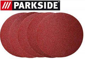 Lot de 5 feuilles abrasives pour ponceuse Parkside ESG PTSG 140 B2 - LIDL IAN 290842 5 x K80 + 5 x film de protection de la marque Parkside image 0 produit