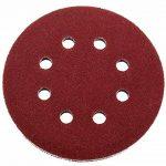 Lot de 50 disques abrasifs Ø 125 mm Grain 40 pour ponceuse excentrique de 8 trous de la marque FD-Workstuff image 1 produit
