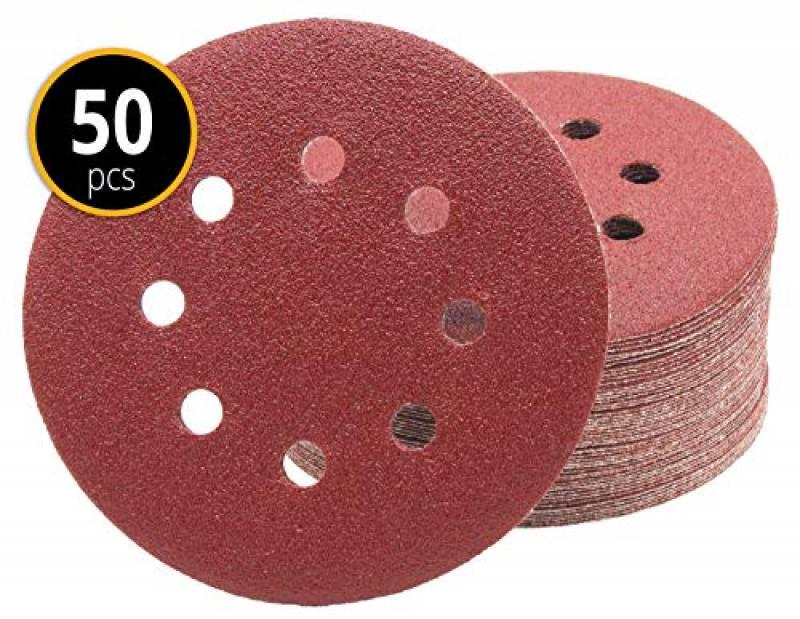 50 feuilles de pon/çage 105 x 152 mm Grain 80 pour Ponceuse multifonction Prio