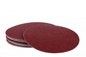 Lot de 50 disques abrasifs Velcro Ø 225 mm sans trou – Lot de 10 x corn 40/60/80/120/180/ponceuse à long manche/ramequin de la marque S&S-Shop image 0 produit