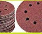 Lot de 50 disques velcro Ø 115 mm 8 trous Grain 600 Velcro pour ponceuse excentrique Disque abrasif Velcro Fixation par ex. pour AEG, Black&Decker, Bosch, Einhell, Kress de la marque Hobbypower24 image 3 produit